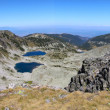 Mountain View from Musala peak - Rila mountains, Bulgaria — Stock Photo #50088819