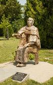 Sculpture of the legendary bulgarian prophetess Vanga — Stock Photo