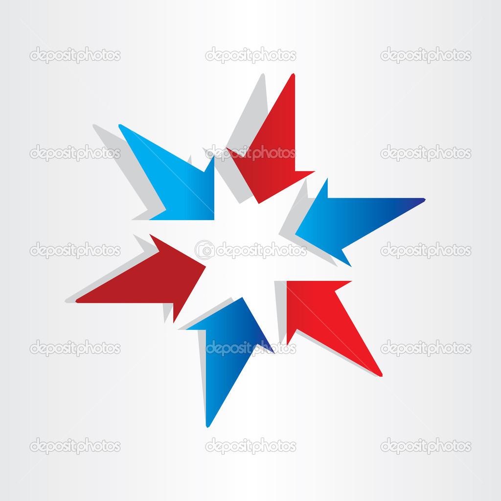 Target Symbol Arrows Symbol Center Target