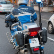 German Police Officer on Motorcycle — Stock Photo #51214193