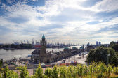 Hamburg Harbour — Stock Photo