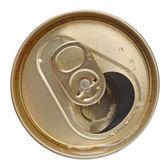 Open tin can — Stock Photo