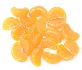 Tangerine slices — Stock Photo