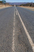 Paved scenic road across South Africa — Stock Photo