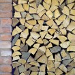 Pile of firewood — Stock Photo #51395543
