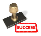 "Rubber stamp ""Success"" — Stock Photo"