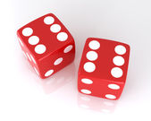 Lucky dice — Stockfoto