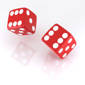 Lucky Dice — Foto Stock