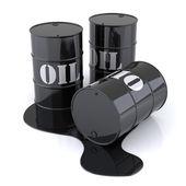 üç petrol varilleri — Stok fotoğraf
