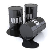 Three Oil Drums — Foto Stock