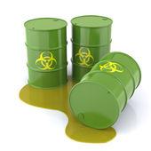 Bio gevaar vaten — Stockfoto