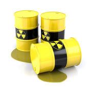 Barils radioactifs — Photo