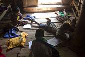 Children at school in Myanmar — Stock Photo