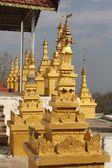 U Min Thonze Buddhist Temple Architectural detail — Stock Photo