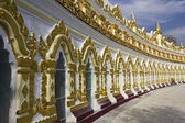 U Min Thonze Buddhist Temple On Sagaing Hill, external — Stock Photo