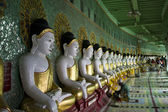 U Min Thonze Buddhist Temple On Sagaing Hill (Myanmar) — Stock Photo