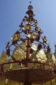Shwezigon Pagoda, architectural detail — Stock Photo
