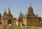 Temples in Bagan — Stock Photo