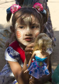 Poverty through Childs eye — Stock Photo