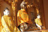 Buddha statue in Myanmar — Стоковое фото