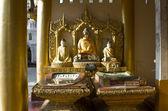 Buddha statue in Myanmar — Stock Photo