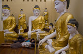 Buddha statue in Myanmar — Stockfoto