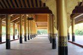 Mandalay Palace Architectural detail, Myanmar — Stock Photo