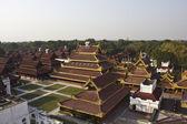 The Mandalay Palace — Stock Photo
