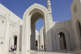 Sultan Qaboos Grand Mosque, Muscat, Oman — Stock Photo