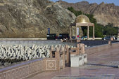 Day view of Muscat promenade — Stock Photo