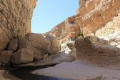 Moqul Cave paradise in Oman — Stock Photo