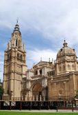 Ancient gothic cathedral in Toledo — Stockfoto