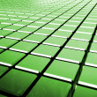 Glossy abstract green background from cubes — Stock Photo #50506587