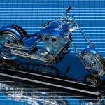 Motorbike model — Stock Photo #50254215