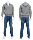 Male sweater on mannequin — Stok fotoğraf