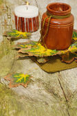 Autumn still-life for Thanksgiving — Foto Stock