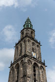 Martini tower in the city Groningen — Stock Photo