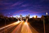亚特兰大市中心黄昏 — 图库照片