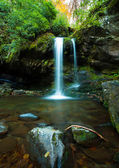 Grotto Falls in Great Smoky Mountain — Stock Photo