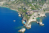 Cape Taormina — Stock Photo