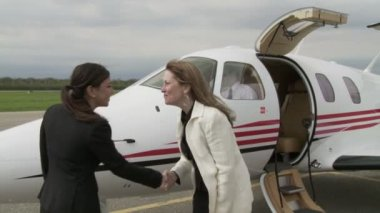 Highflying Women — Stock Video