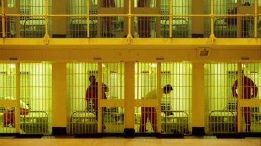 Multi-storey Prison — Stock Video