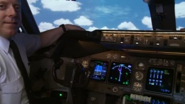 Commercial Pilot — Stock Video