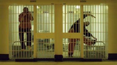 Prison Stretch — Stock Video