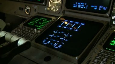 Cockpit Instruments — Stock Video