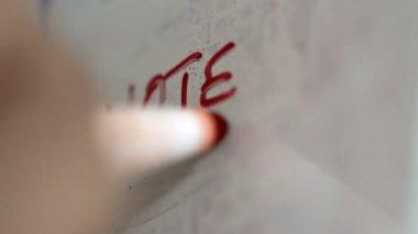 汚れたノート — ストックビデオ