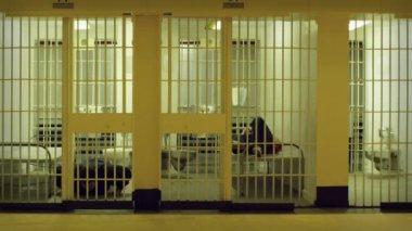 Prison Exercise — Stock Video