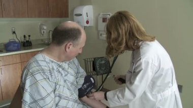 Blood Pressure — Stock Video