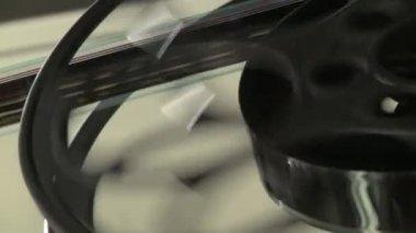 Carrete de película — Vídeo de stock