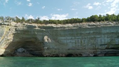 Pictured Rocks — Stock Video